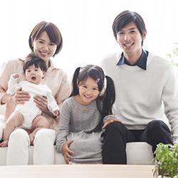 江口様 家族写真